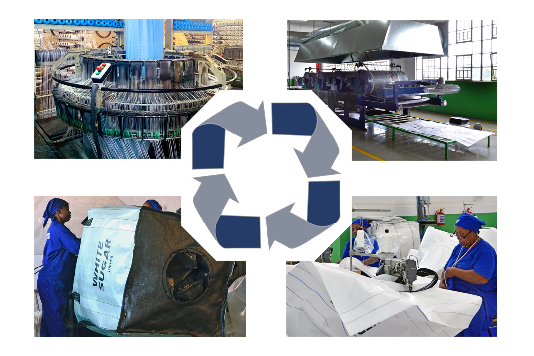 Manufacturing woven bulk bags: from raw materials to final product