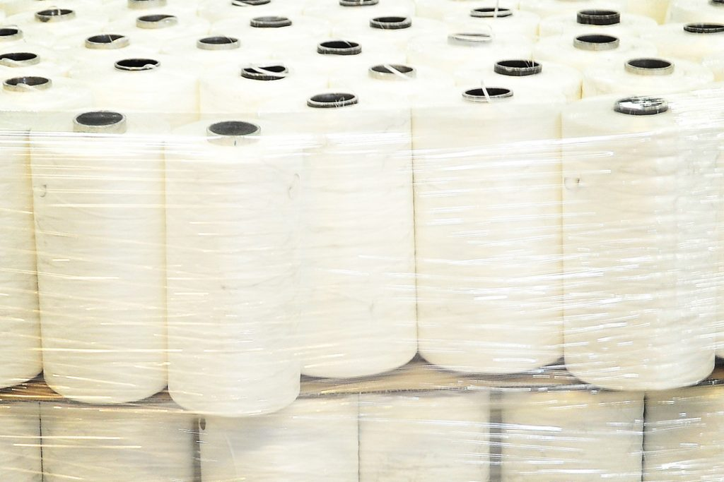 Our extrusion process for polypropylene tapes