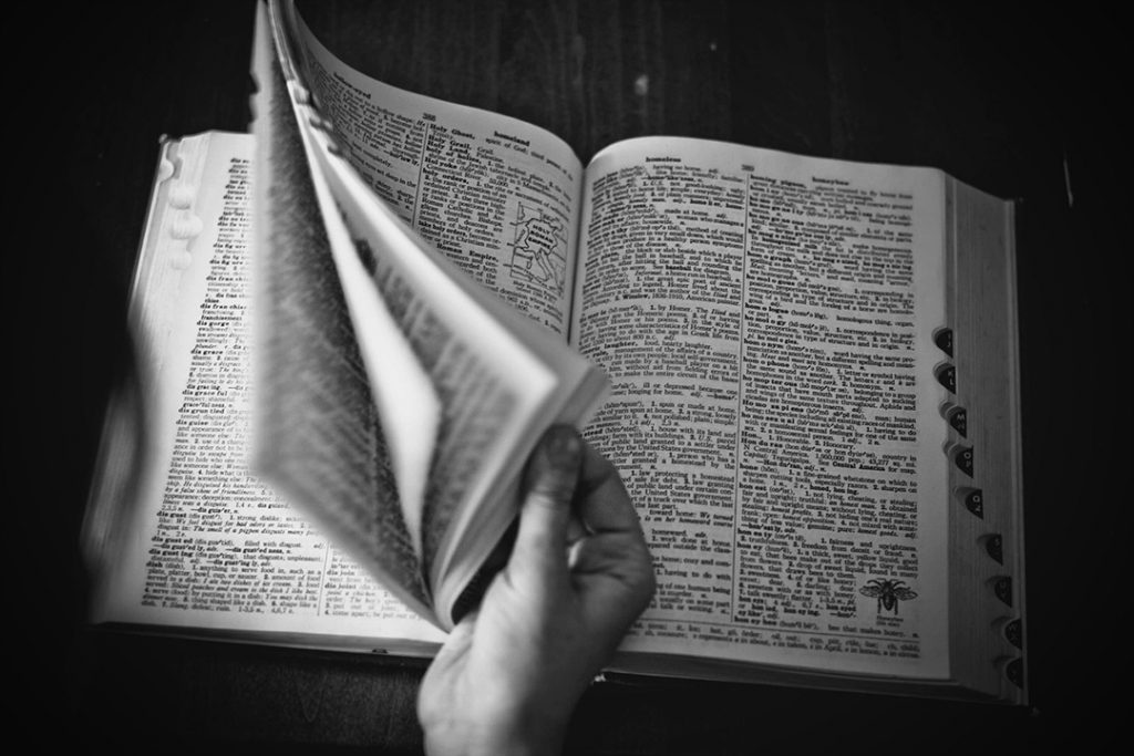 Dictionary for bulk bag terminology